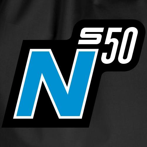 S50 N logo (v2) - Drawstring Bag