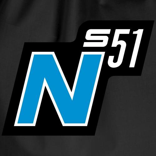 S51 N Logo (v2) - Turnbeutel
