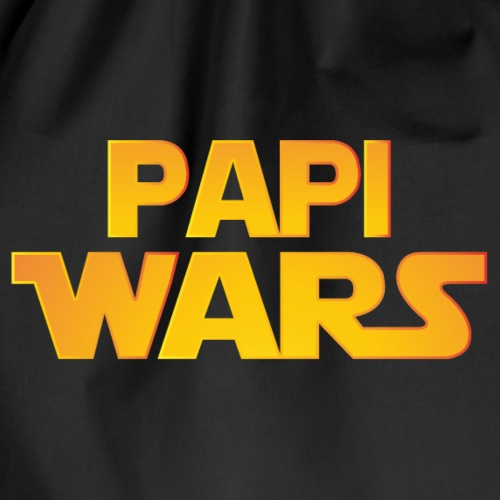 PAPI WARS PAPA WARS DAD WARS - Turnbeutel