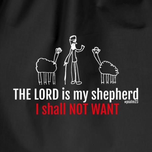 KOSZULKA -THE LORD IS MY SHEPHERD I SHALL NOT WANT - Worek gimnastyczny