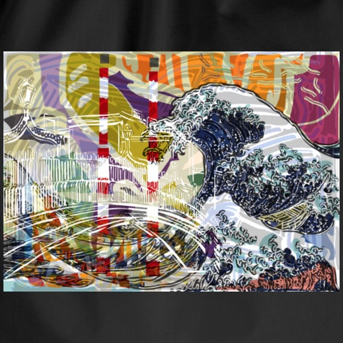dublinwavevibe - Drawstring Bag