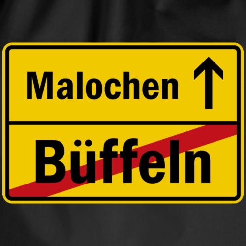 bueffeln vs. malochen - Turnbeutel