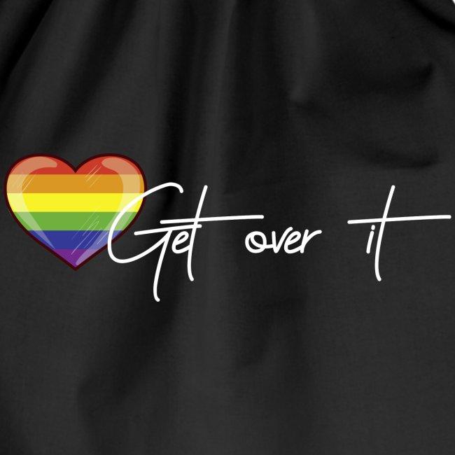 Get over it Herz weiß