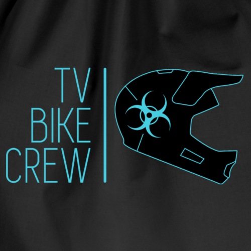 TVBikeCrew Cyan - Sacca sportiva