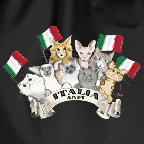 Esposizione feline Italia - Sacca sportiva