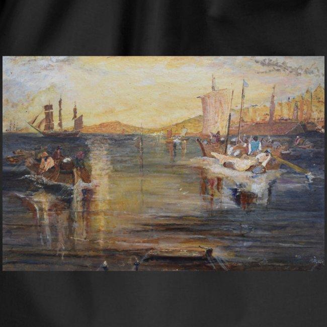 White Fishing - Mark Noble Art