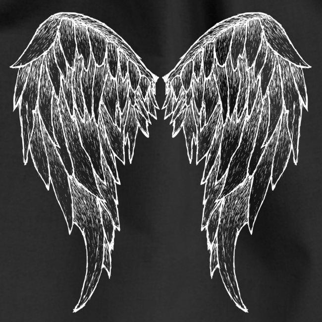 Erdenengel (Flügel am Rücken)