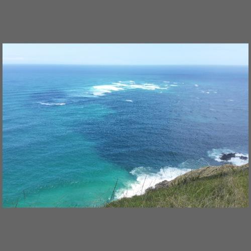 Pazifik türkis blau Natur - Cape Reinga Neuseeland - Turnbeutel