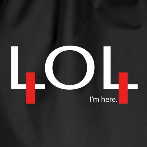 404 not found - Sac de sport léger