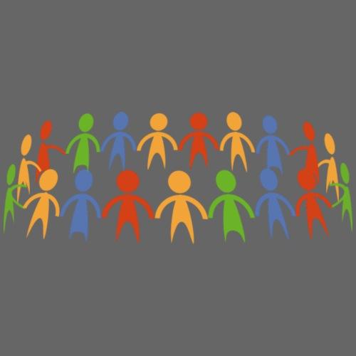 unity diversity - Drawstring Bag