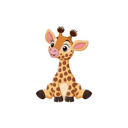 Urocza żyrafa - Worek gimnastyczny