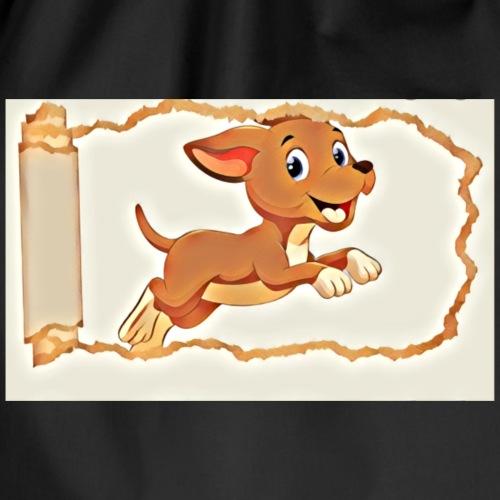 Süße Hunde, frech Hund - Turnbeutel