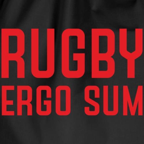 Marplo RugbyergosUM RED - Sacca sportiva