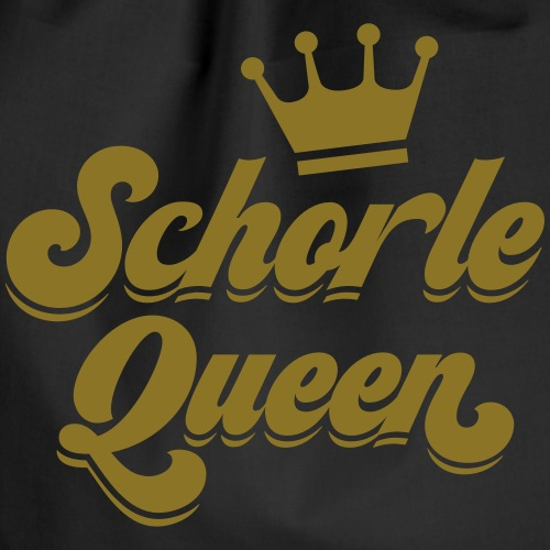 Schorle Queen - Gold - Turnbeutel