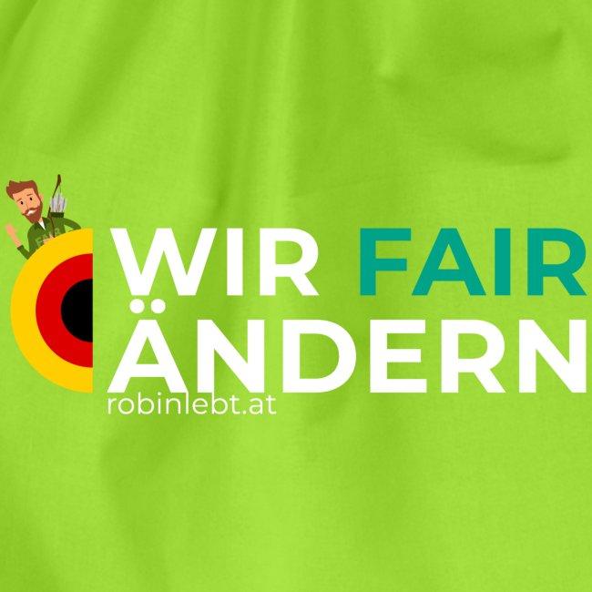 Wir FairÄndern Deutschland (Flagge)