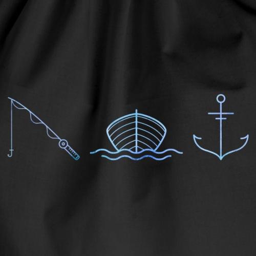 Fishing icons - Sac de sport léger