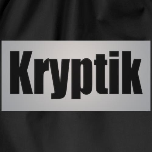 Kryptik Logo Gross - Turnbeutel