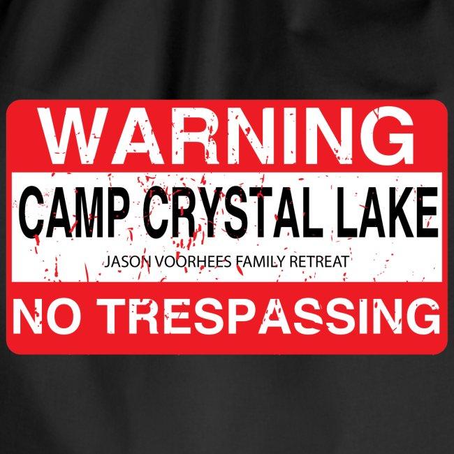 Camp Crystal Lake No Trespassing
