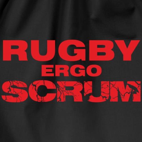 Marplo Rugbyergoscrum red - Sacca sportiva