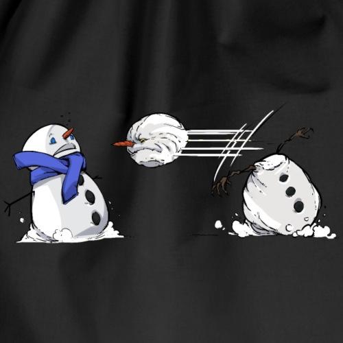 Bataille de boules de neige - Sac de sport léger