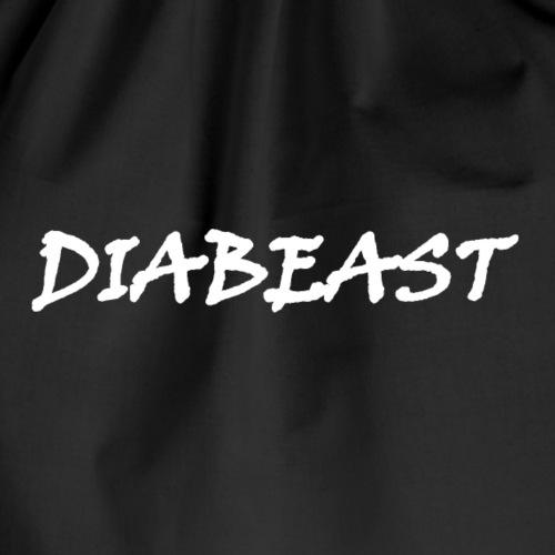 Spreadshirt Diabeast Weiß - Turnbeutel
