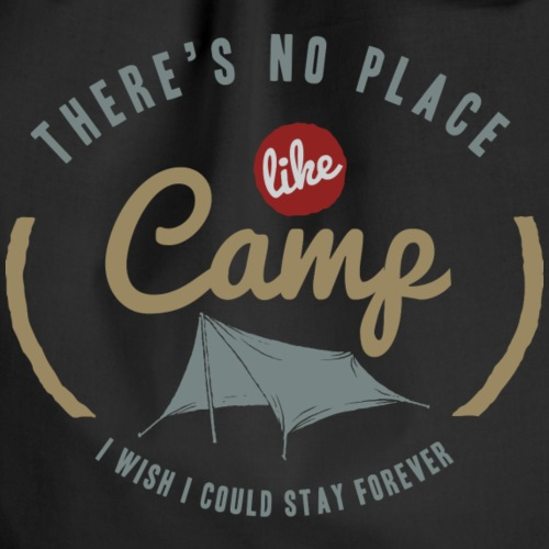 Geen plaats zoals kamp - Gymtas