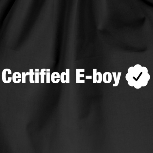 Certified E-boy - Drawstring Bag