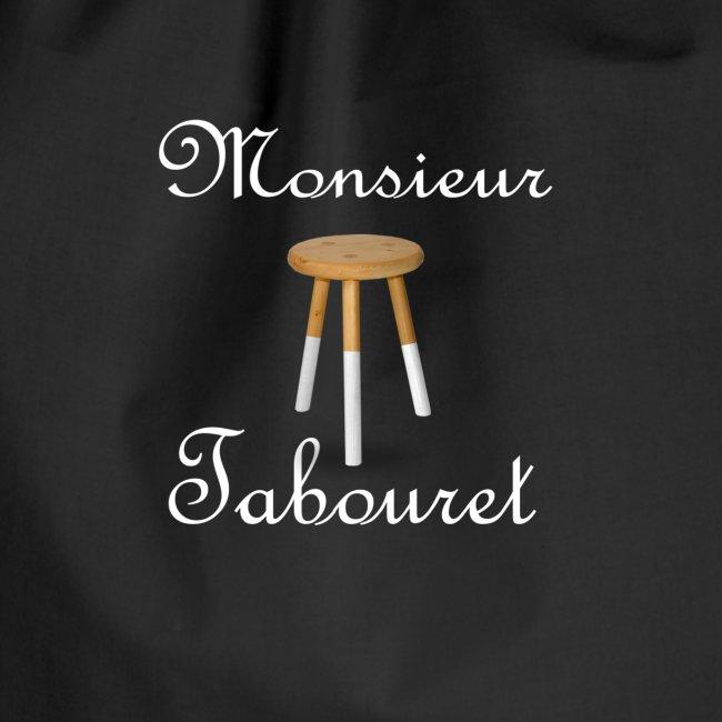 Monsieur Tabouret (Blanc)