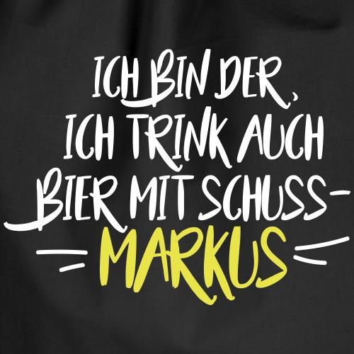 MARKUS - Saufkumpels - Turnbeutel