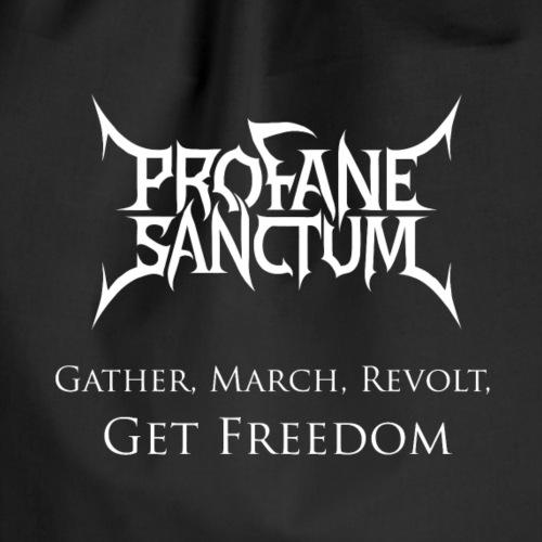 Gather, March, Revolt, Get Freedom - Turnbeutel