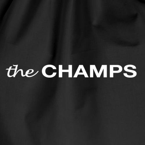 Richtige Champions Schriftzug - Turnbeutel