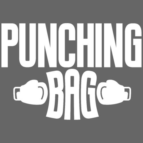 Punching Bag weiss - Turnbeutel