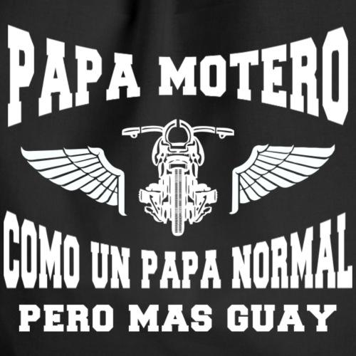 Papa motero - Mochila saco