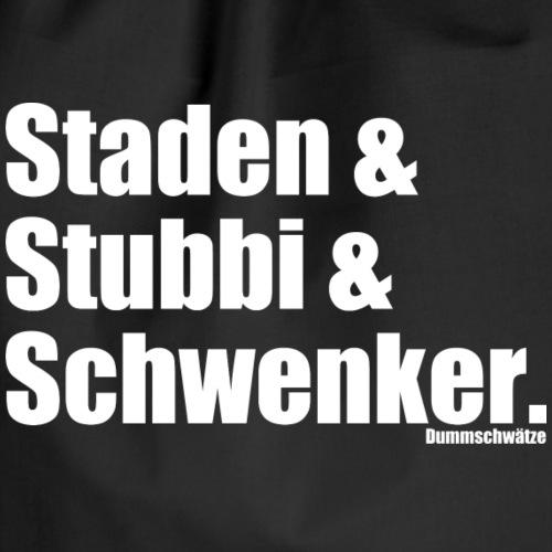 Staden, Stubbi, Schwenker - Turnbeutel