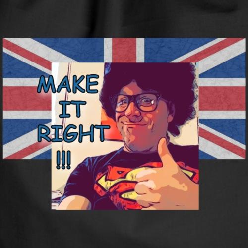 Fred - Make It Right British Flag