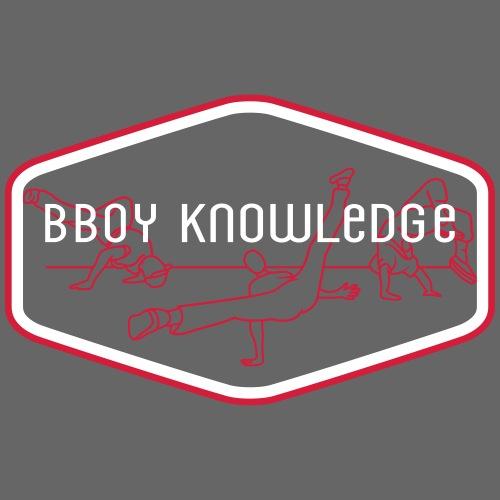 "Bboy Knowledge ""1st generation"" Logo"