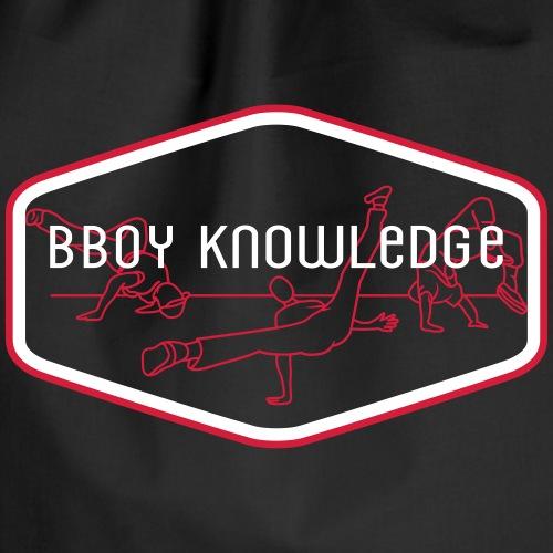 "Bboy Knowledge ""1st generation"" Logo - Sac de sport léger"