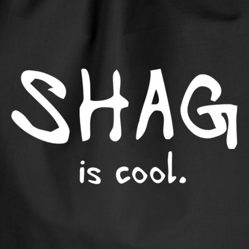 Shag is cool - Drawstring Bag
