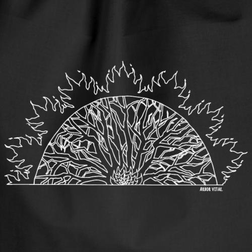 Arbor Vitae in white - Turnbeutel
