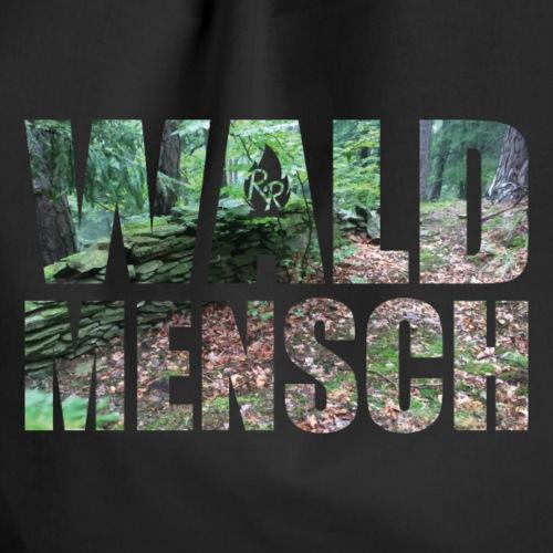 Wald Mensch - Turnbeutel