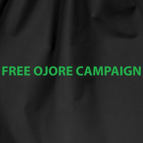 FREE OJORE CAMPAIGN green - Drawstring Bag