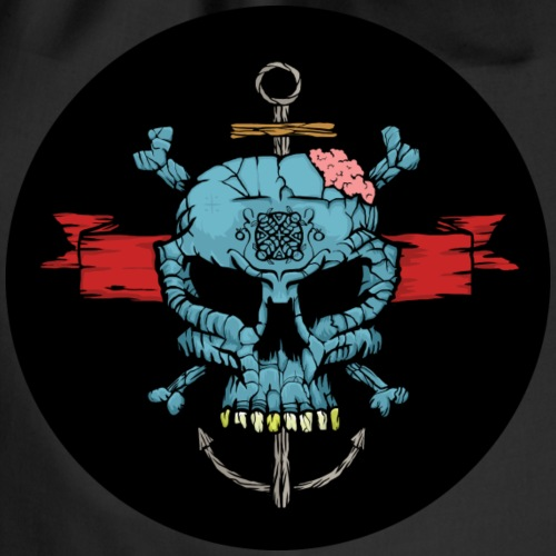 Blue Skull - Turnbeutel