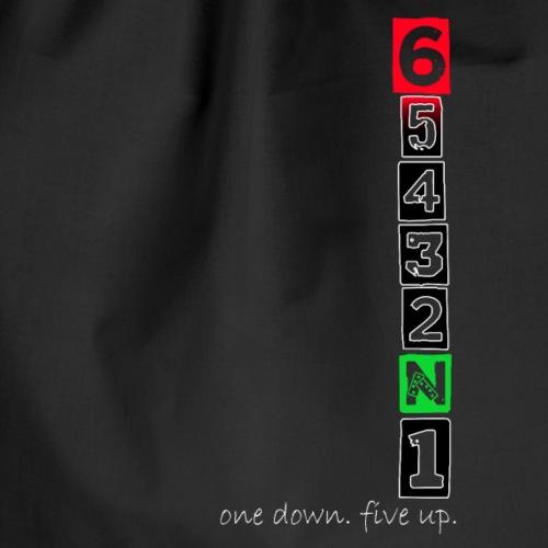 1 Down - 5 Up - Turnbeutel