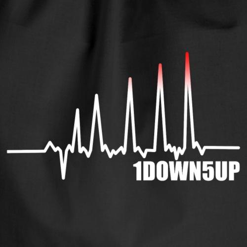 1Down5Up - EKG - White - Turnbeutel
