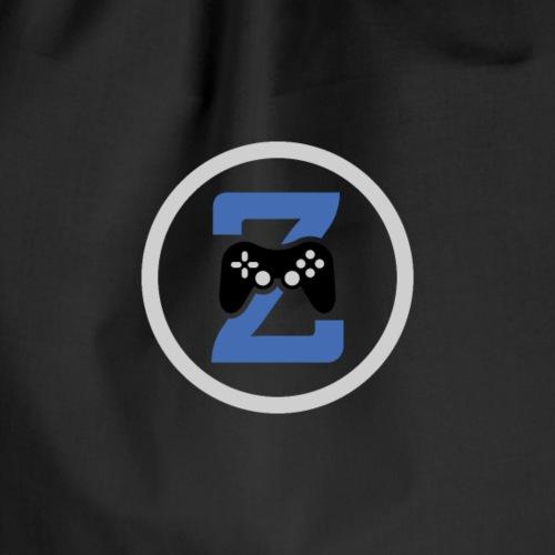 Zaphare blue Logo - Turnbeutel