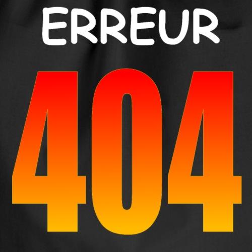 404 Erreur - Sac de sport léger