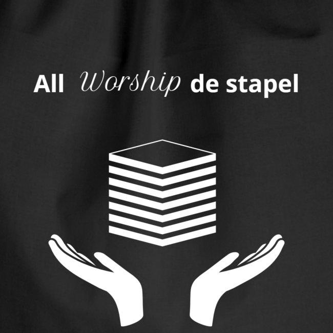 All worship de stapel - wit