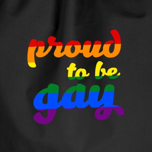 Stolz darauf, schwule LGBTQ-Unterstützung zu sein - Turnbeutel