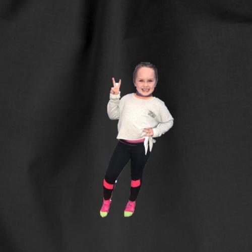 Poppy Ava gymnast - Drawstring Bag