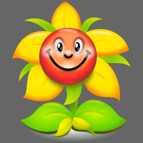 Smiling flower - Drawstring Bag